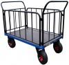 Serie 52000 - vozíky plošinové se 2 madly a 2 boènicemi se svislými pøíèkami nosnost 500kg