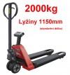 Nízkozdvižné paletové vozíky s váhou 27601.04 s atestem (pouze na objednávku)
