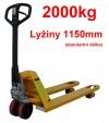Nízkozdvižné paletové vozíky - NV 2000-RYCHLOZDVIH L 1150mm  27075.09