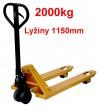 Nízkozdvižné paletové vozíky - NV 2000 L 1150mm  27075.27