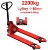 Nízkozdvižné paletové vozíky s váhou pro orientaèní vážení 27601.05 (pouze na objednávku)