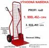 Rudl 12049.05 PROFI lopata 500x290mm nosnost 250kg